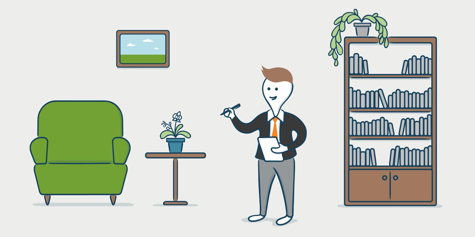 Kuinka luoda omaisuuden luettelo vuokra-asunnolle Suomessa